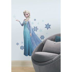 Frozen Elsa Giant Wall Decal Decoration (Each)