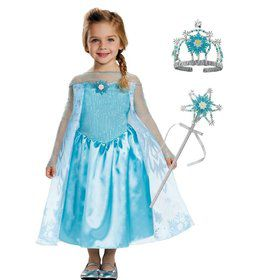 Frozen Elsa Toddler Costume Kit Deluxe