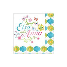 Frozen Fever Beverage Napkins (16 Pack)