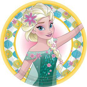 Frozen Fever Luncheon Plates (8 Pack)