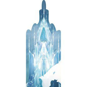 Frozen Ice Castle Cardboard Standup (Each)