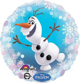 "Frozen Olaf 18"" Balloon (Each)"