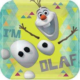 "Frozen Olaf 9"" Luncheon Plates (8 Pack)"