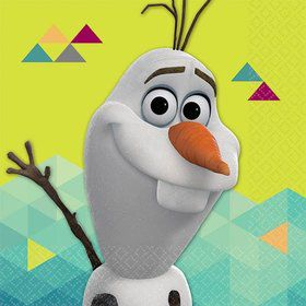 Frozen Olaf Beverage Napkins (16 Pack)
