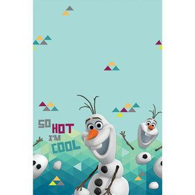 Frozen Olaf Plastic Table Cover (Each)