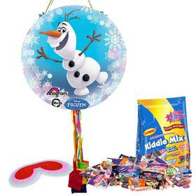 Frozen Olaf Pull String Pinata Kit