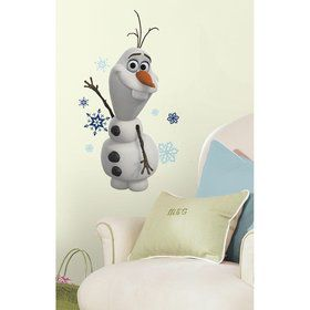 Frozen Olaf the Snowman Wall Decal Decoration (Each)