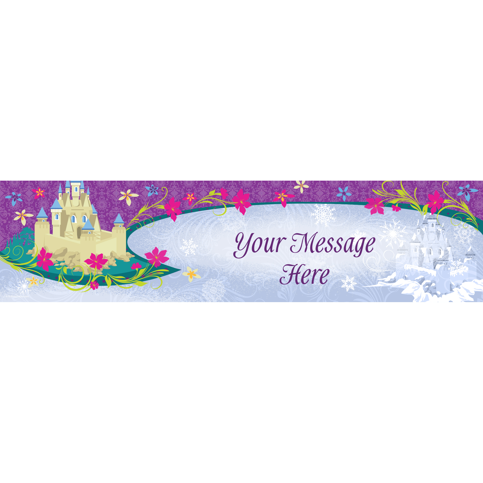 Frozen Personalized Banner (Each) - Party Supplies BB1385BN