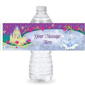 Frozen Personalized Bottle Labels (Sheet of 4)