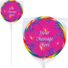 Frozen Personalized Lollipops (12 Pack)