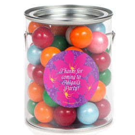 Frozen Personalized Paint Can Favor Container (6 Pack)
