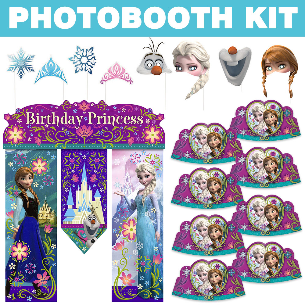 Frozen Photo Booth Kit BBKIT1029