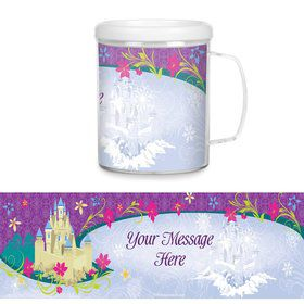 Frozen Plastic Personalized Favor Mugs (Each)