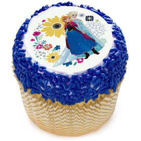 """Frozen Sisters 2"""" Edible Cupcake Topper (12 Images)"""