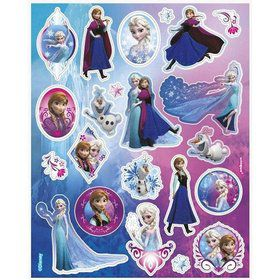 Frozen Sticker Favors (4 Sheets)