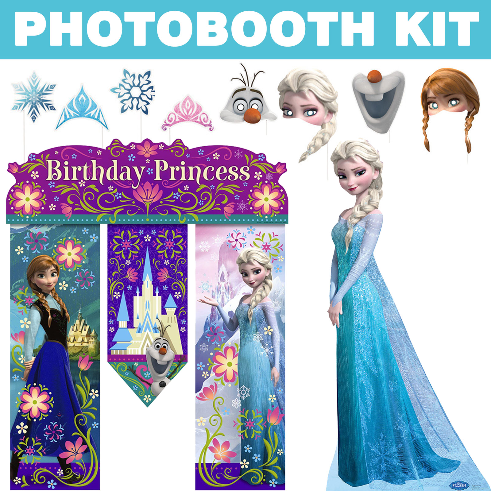Frozen Ultimate Photo Booth Kit BBKIT1029U
