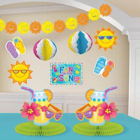 Fun In The Sun Decorating Kit (Each)