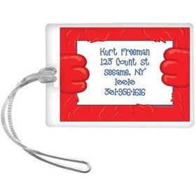 Fuzzy Friends 1st Birthday Personalized Luggage Tag (each)