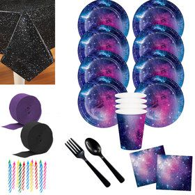 Galaxy Party Deluxe Tableware Kit (Serves 8)