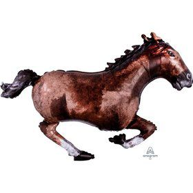 Galloping Horse 40 Jumbo Shaped Foil Balloon