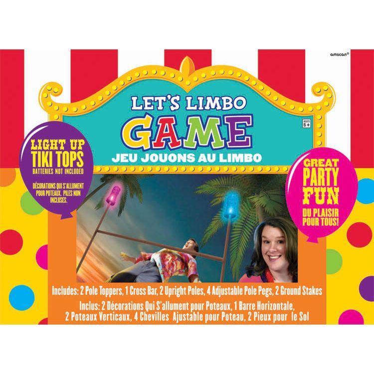 Game Lets Limbo (Each) - Party Supplies BB270123