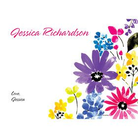 Garden Blooms Personalized Thank You (Each)