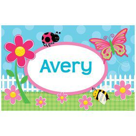 Garden Party Personalized Placemat (each)