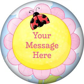 Garden Personalized Button (Each)
