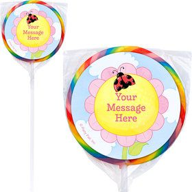 Garden Personalized Lollipops (12 Pack)