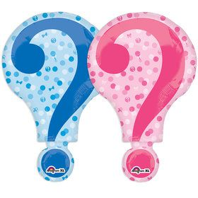 "Gender Reveal 28"" Balloon (Each)"