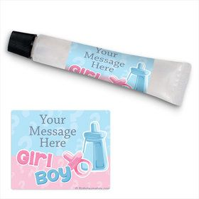 Gender Reveal Personalized Hand Sanitizer Kit (24 Pack)
