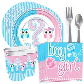 Gender Reveal Standard Tableware Kit (Serves 8)