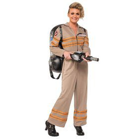Ghost Buster's Movie Deluxe Ghostbusters Costume for Women