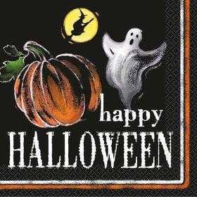 Ghostly Halloween Luncheon Napkins (20 Pack)