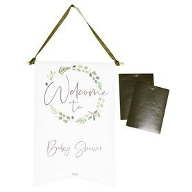 Ginger Ray Baby Shower Customizable Welcome Sign