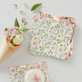 Ginger Ray Ditsy Floral Napkins