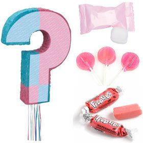 Girl Gender Reveal Pull Pinata Kit