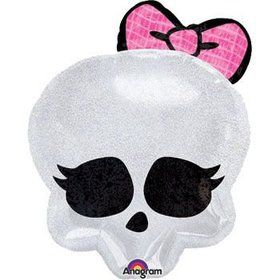 Girl Skull Balloon (each)