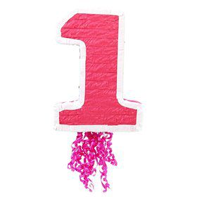 Girl's 1st Birthday Pinata (each)