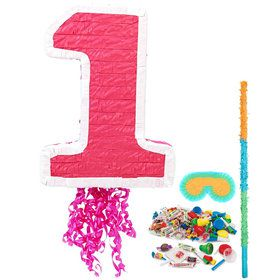 Girl's 1st Birthday Pinata Kit