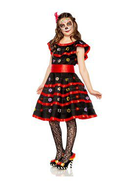 Girls Day of the Dead Costume
