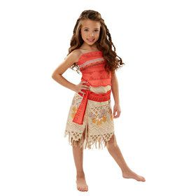 Girls Disney's Moana Adventure Costume