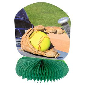 Girl's Fastpitch Softball Centerpiece (1)