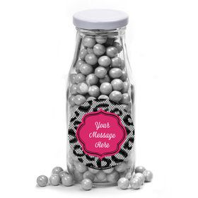 Girl's Night Out Personalized Glass Milk Bottles (12 Count)