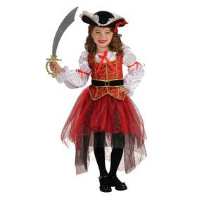Girls Princess Of The Seas Costume