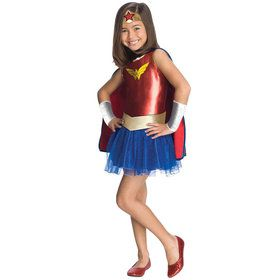 Girl's Wonder Woman Tutu Costume