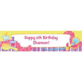 Glamorous Party Personalized Banner (each)