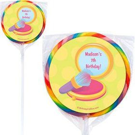 Glamorous Party Personalized Lollipops (pack of 12)
