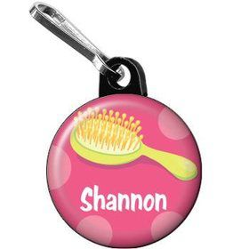 Glamorous Party Personalized Mini Zipper Pull (each)
