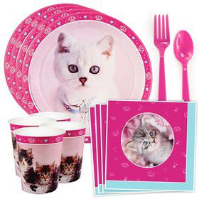 Glamour Cats by Rachael Hale Standard Tableware Kit (Serves 8)